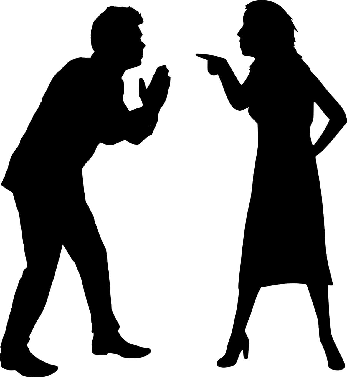 two people having a disagreement