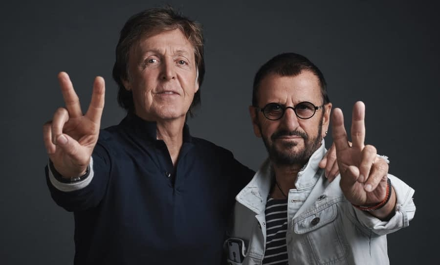 Paul and Ringo from the Beatles