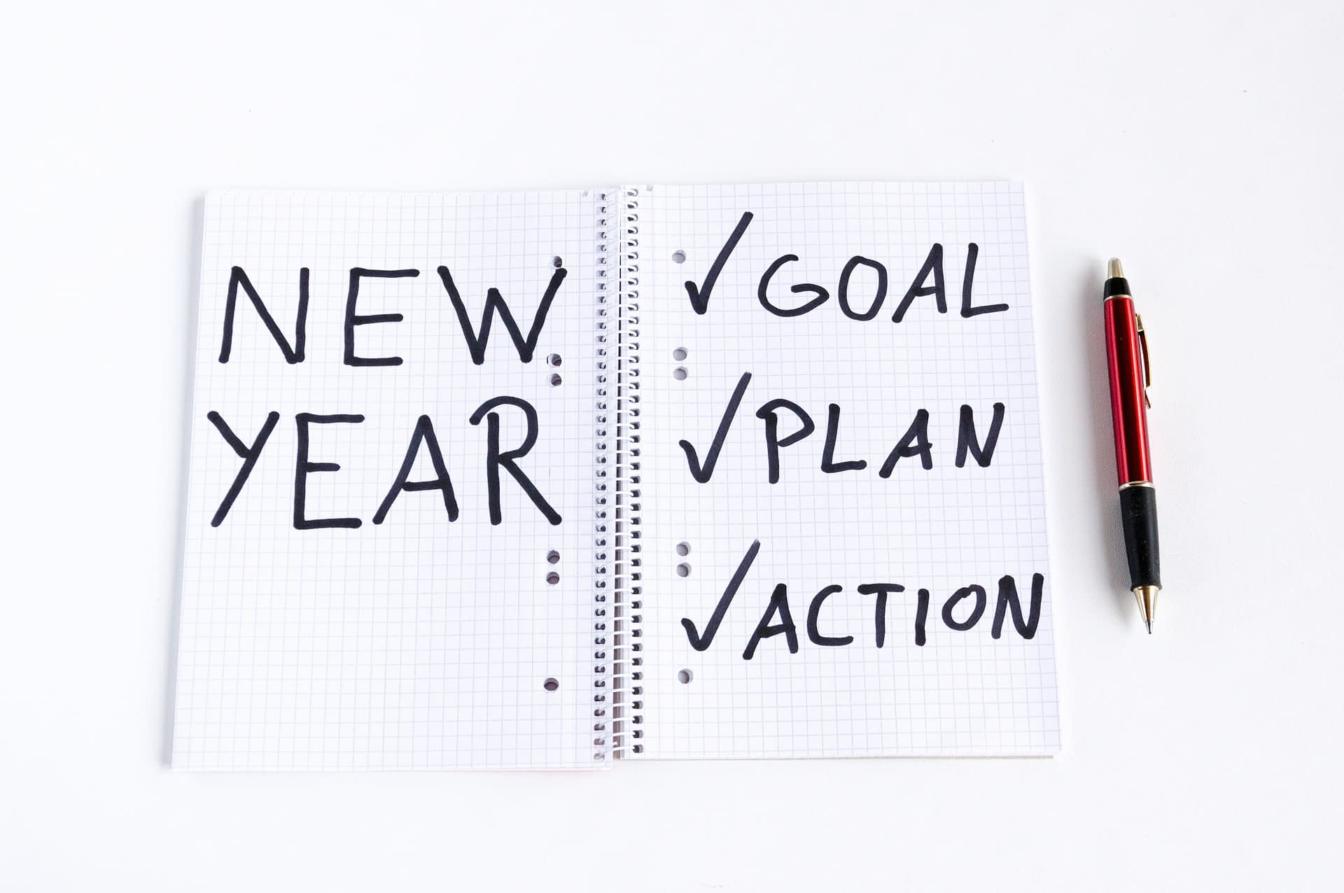 new year's resolutions goals